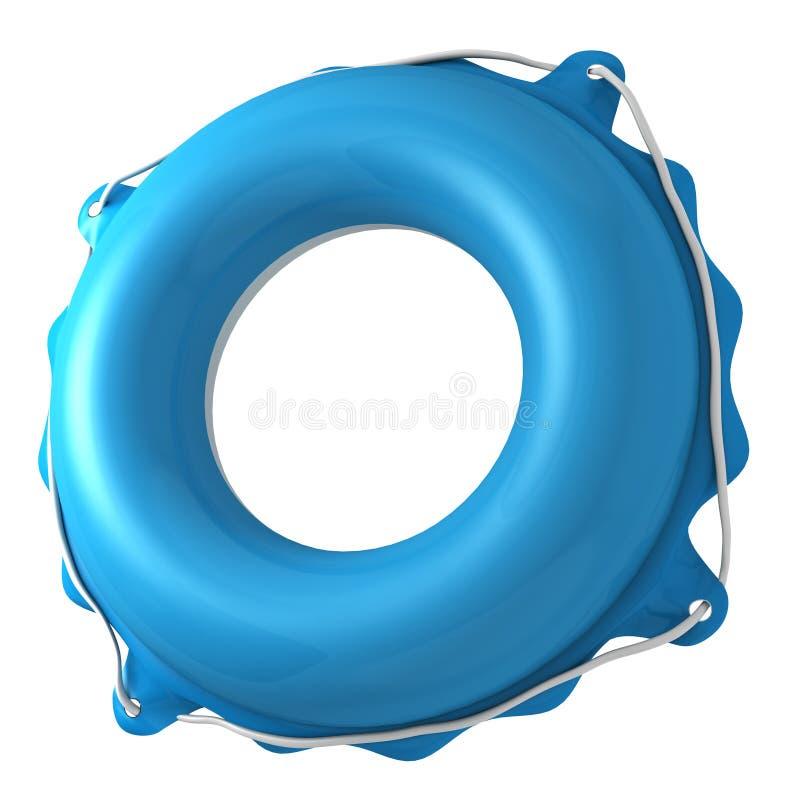 游泳圆环 库存例证