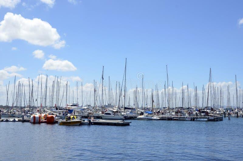 游艇。 免版税库存图片
