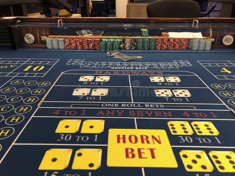 游轮赌博娱乐场 库存照片