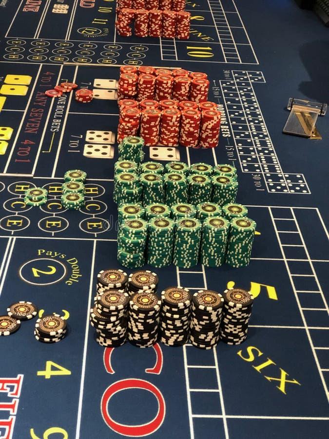游轮赌博娱乐场 库存图片