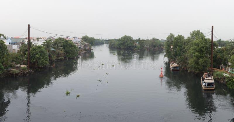 湄公河三角洲在越南 免版税图库摄影
