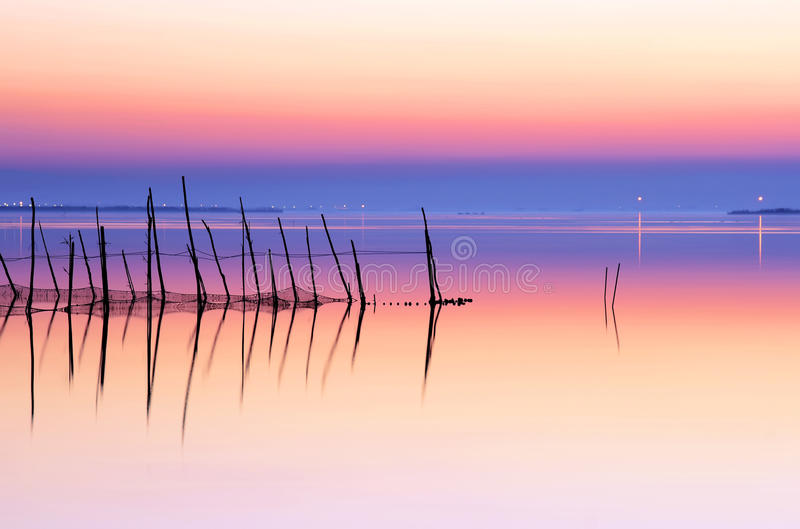 湖和平 免版税库存图片