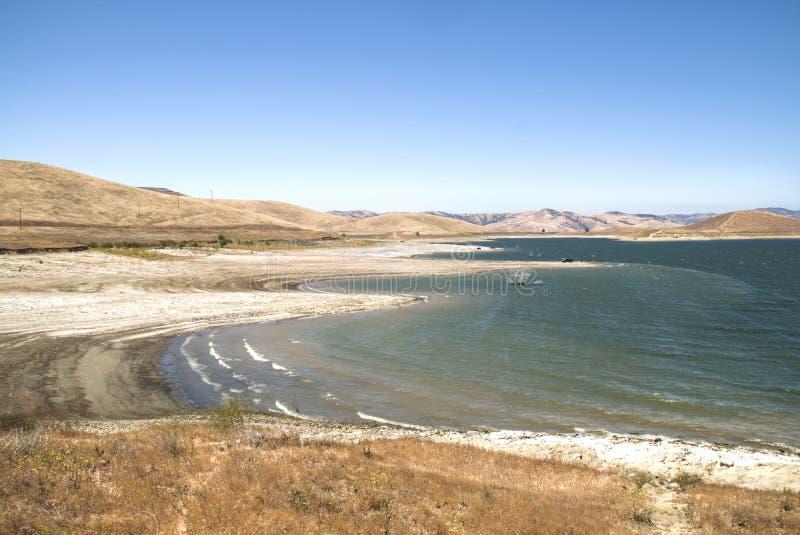 湖在内华达山脉 库存照片
