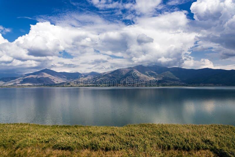 湖在希腊 图库摄影