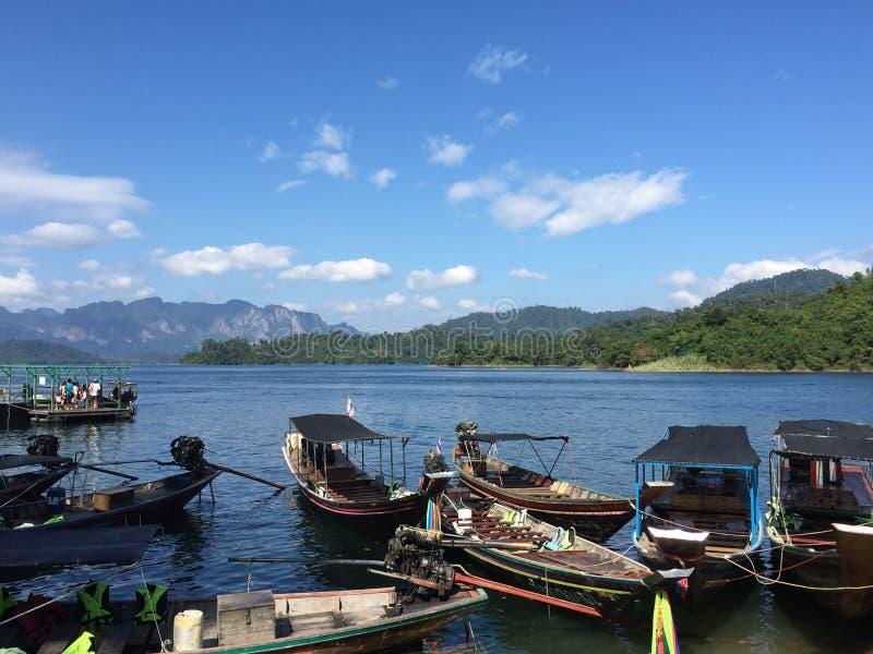 湖在泰国 图库摄影