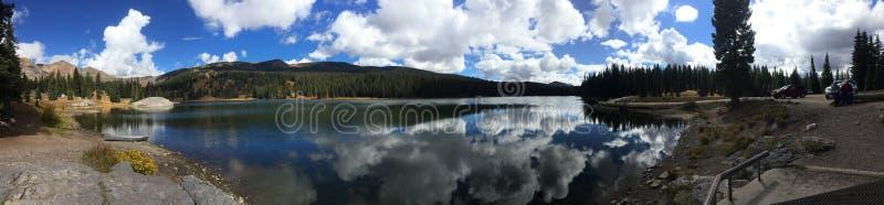 湖在科罗拉多 免版税图库摄影