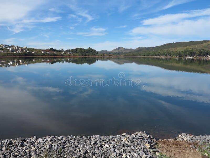 湖在米纳斯吉拉斯州- FDC 免版税库存照片