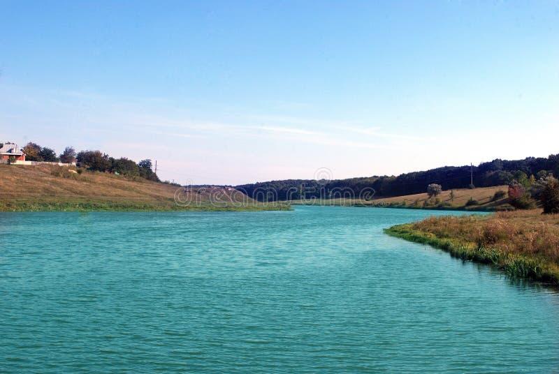 湖大海 库存照片
