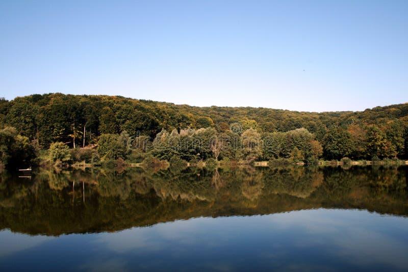 湖本质 库存照片