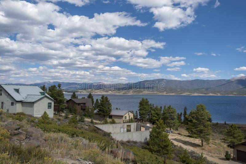 湖格兰比落矶山国立公园 免版税图库摄影