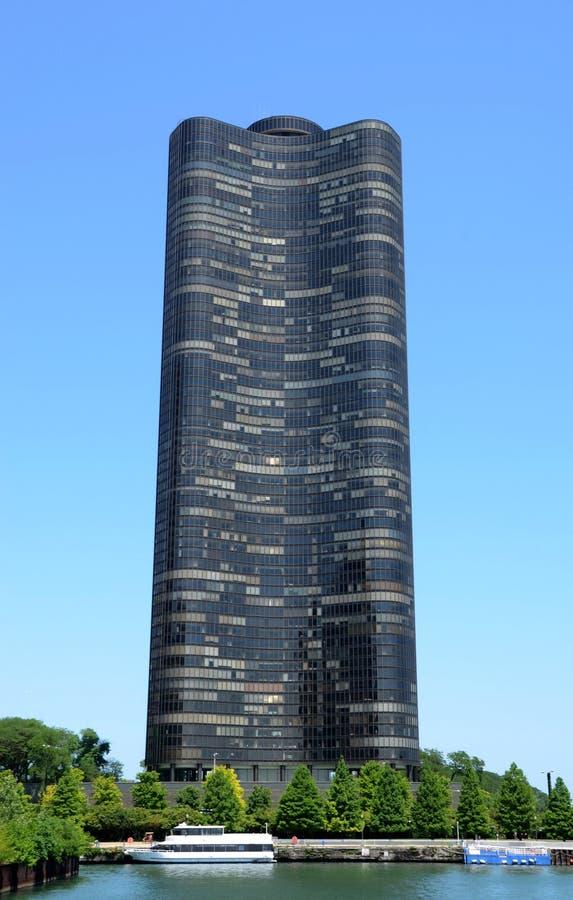 湖点塔在芝加哥 免版税图库摄影