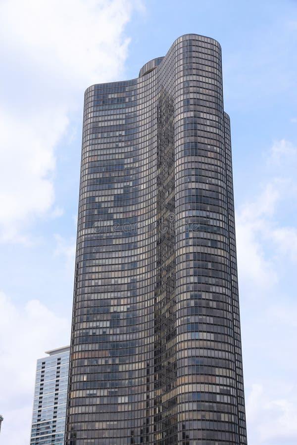 湖点塔,芝加哥 图库摄影