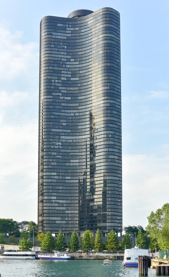 湖点塔-芝加哥 库存照片