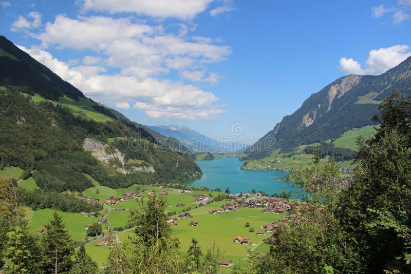 湖瑞士 库存照片