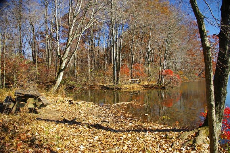 湖纪念公园状态 免版税库存图片