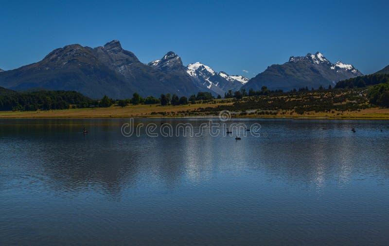 湖金刚石新西兰1 库存照片