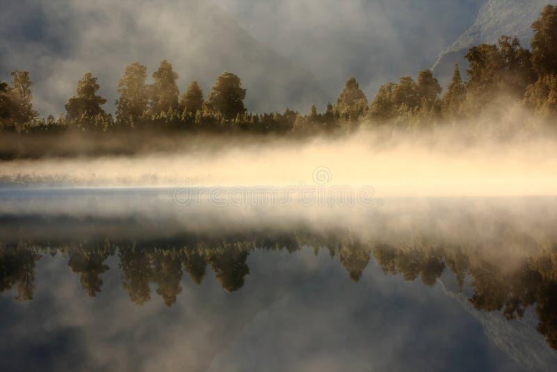 湖镜子 免版税图库摄影