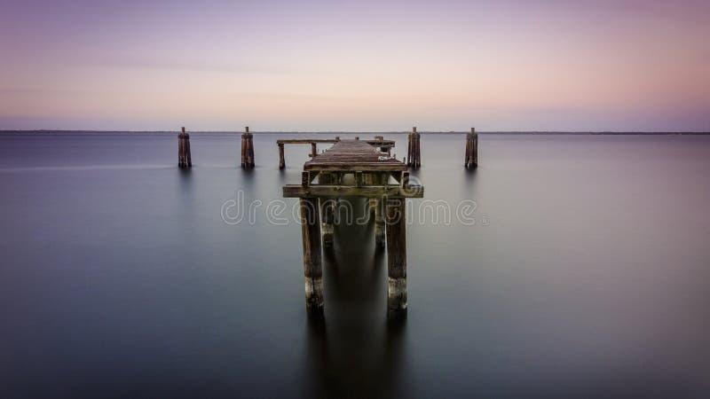湖门罗船坞 免版税库存图片