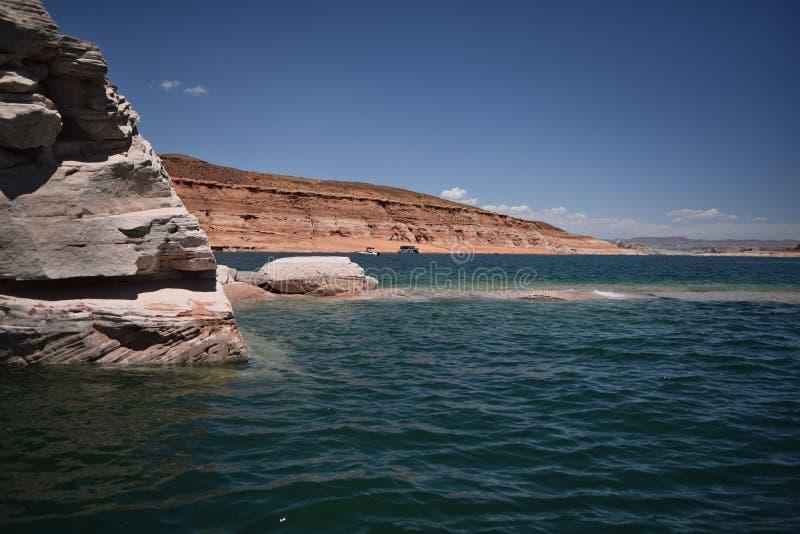 湖鲍威尔 库存照片