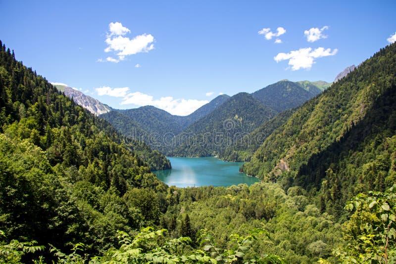 湖,风景照片山的 图库摄影