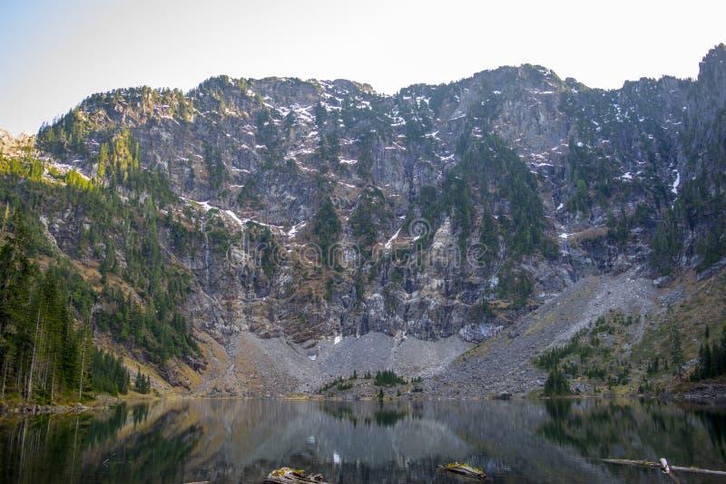 湖22在华盛顿 免版税库存照片