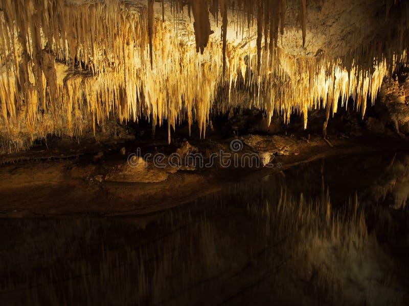 湖洞,马格丽特里弗,西澳州 免版税库存照片