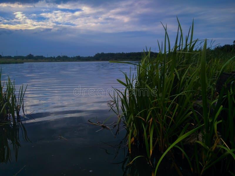 湖 免版税库存照片
