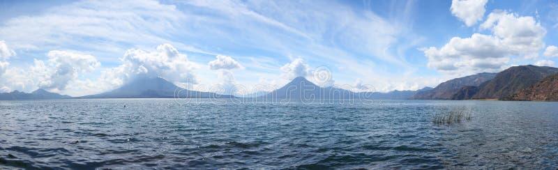 湖Atitlan 免版税库存图片