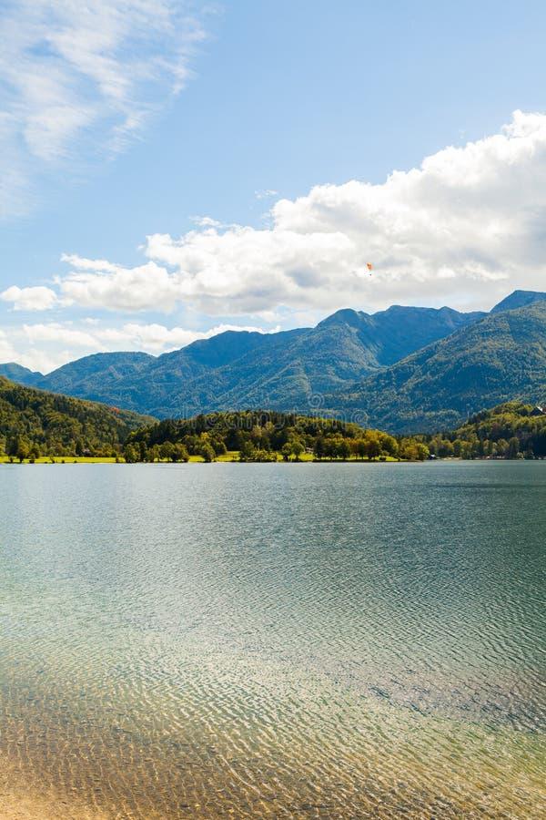 湖Bohinj (斯洛文尼亚) 库存图片