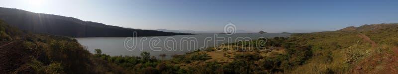 湖chamo,埃塞俄比亚 库存照片
