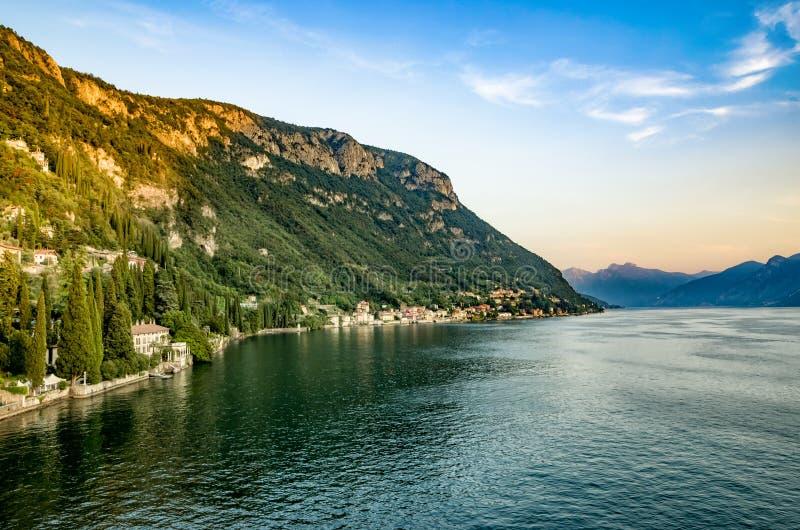 湖Como 库存照片