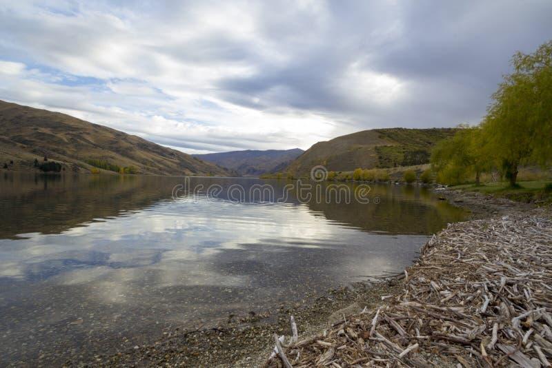 湖Dunstan 免版税库存照片