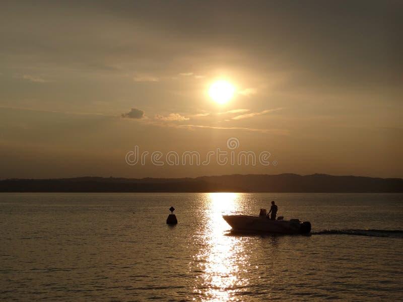 湖Garda 库存图片