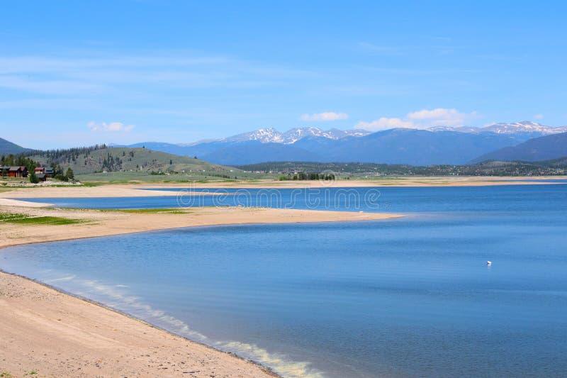 湖Granby,科罗拉多 免版税库存图片