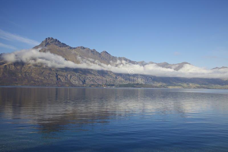 湖Hawea 免版税库存照片