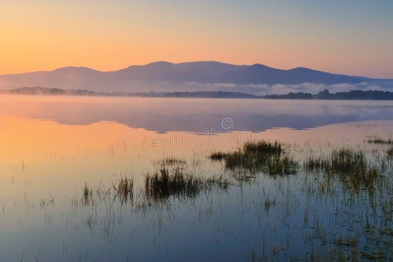 湖leane 免版税库存照片