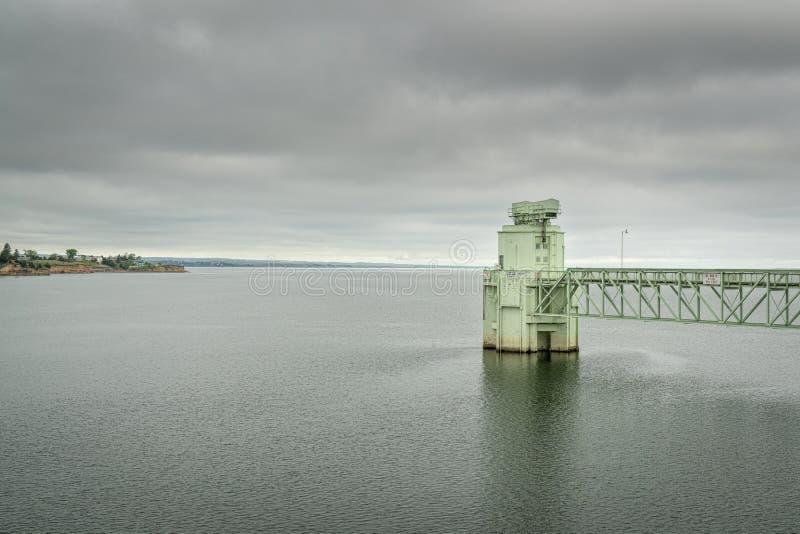 湖McConaughy在内布拉斯加 免版税库存照片