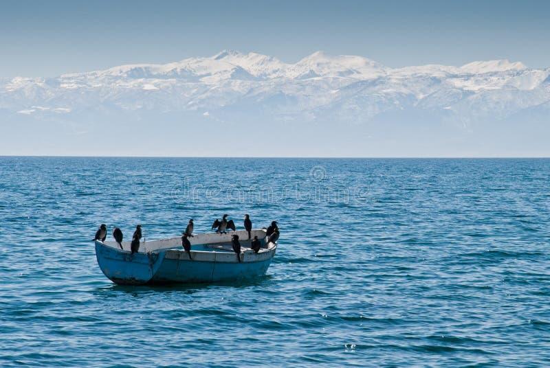 Download 湖Ohrid 库存照片. 图片 包括有 天空, 夏天, 手段, 节假日, 巴尔干, 小船, 蓝色, 横向 - 30328780