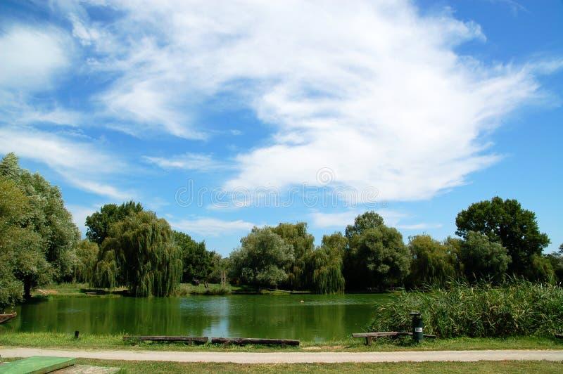 湖oxbow 库存图片