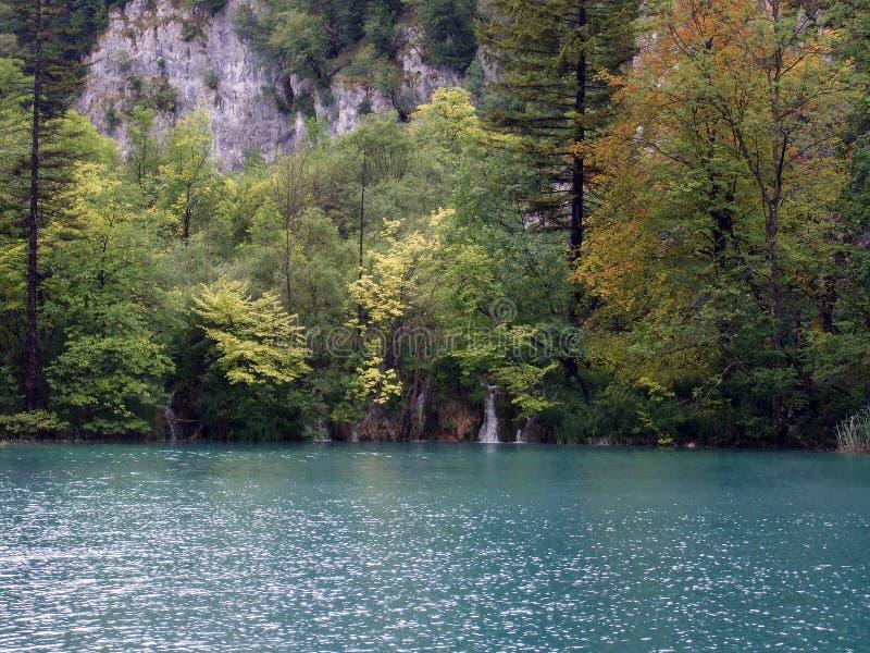 湖plitwitz 免版税库存图片