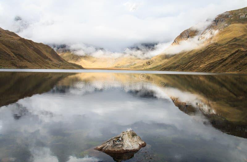 湖Reflecition 库存图片