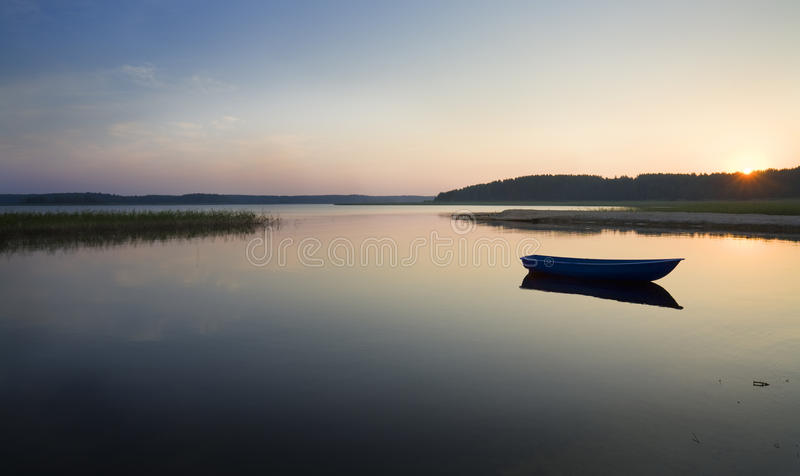 湖seliger 库存照片