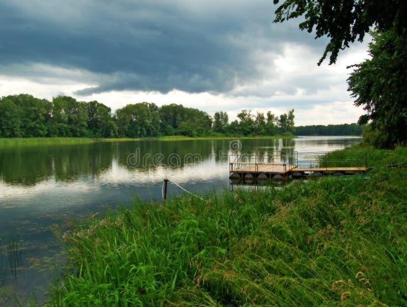 湖shamsutdin 库存图片
