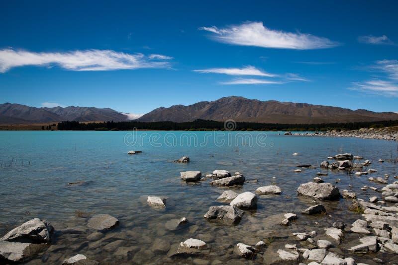 湖Tekapo 免版税图库摄影
