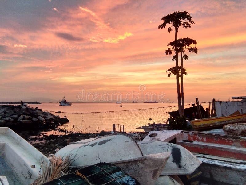 湾区的无限的现实 免版税库存照片