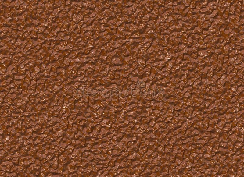 湿牛奶巧克力样式。棕色背景 免版税库存照片