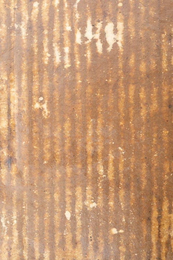 湿皱纸板纹理或背景 免版税库存照片