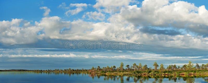 湿软的湖 免版税库存图片