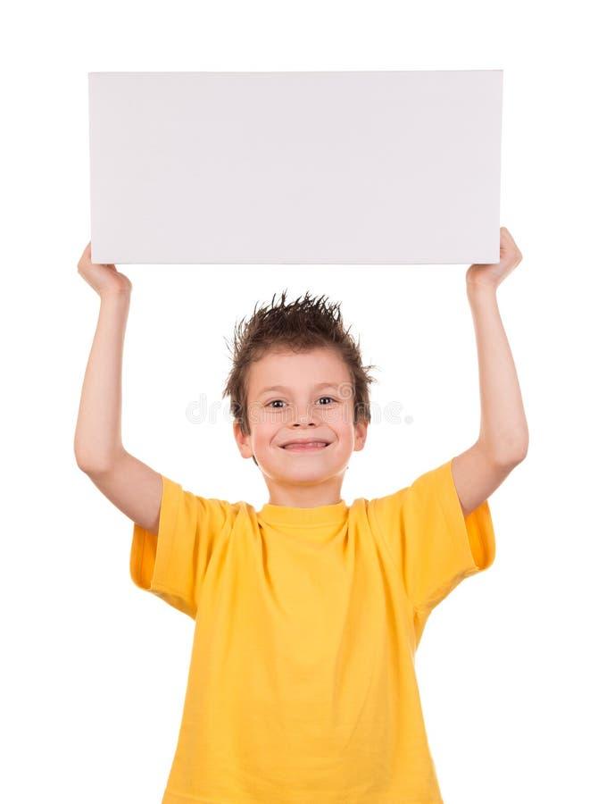 湿头发男孩激动 免版税图库摄影