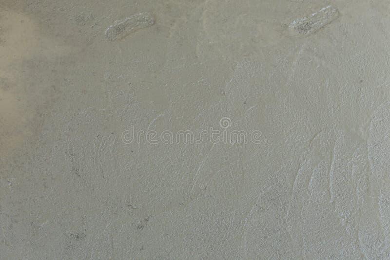 湿水泥纹理在楼房建筑站点 图库摄影